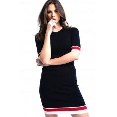 vestido-midi-negro-con-franjas